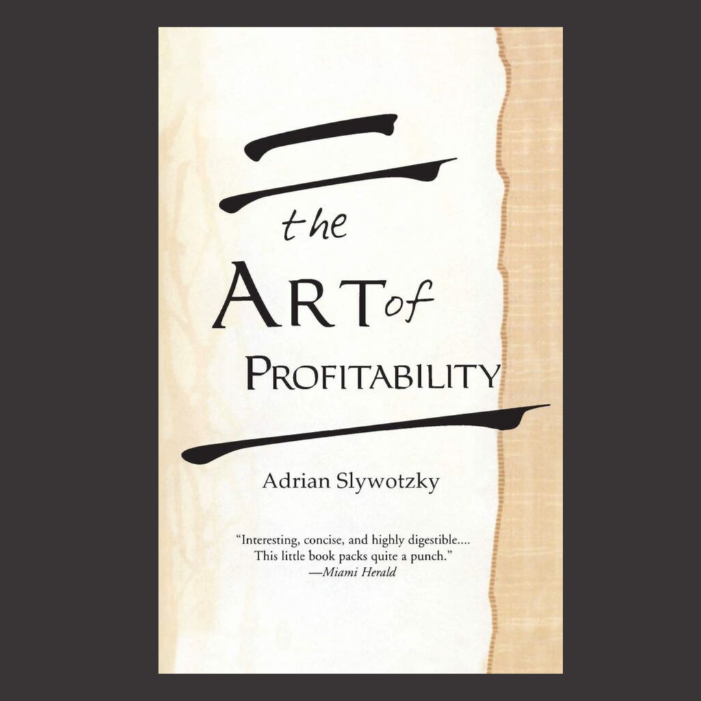 The Art of Profitability book cover