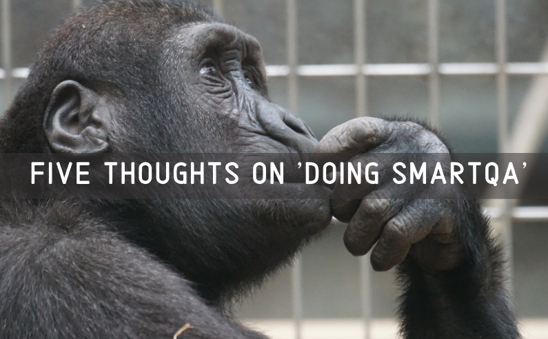 "Featured image of article ""Five thoughts on doing SmartQA"""