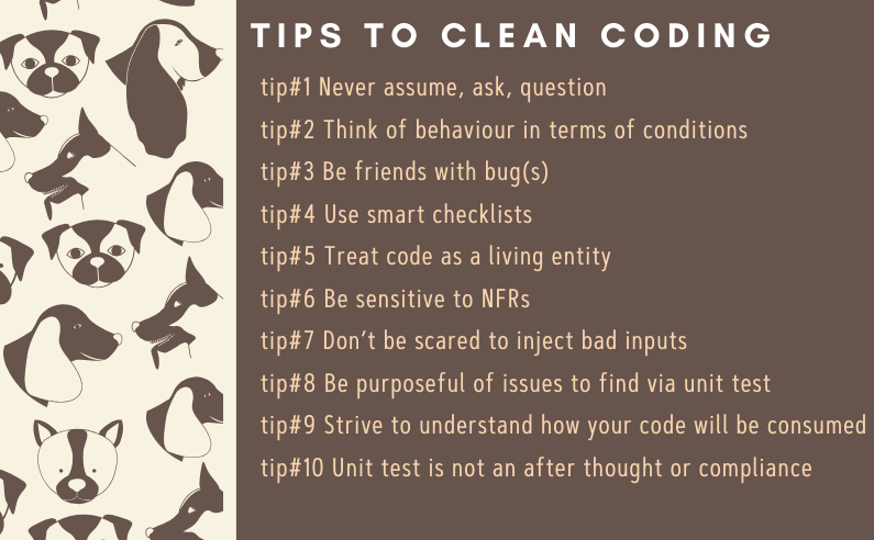 10 tips to clean coding