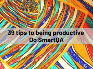39 tips to being productive