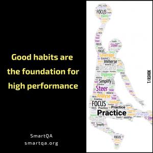 Poster Good habits