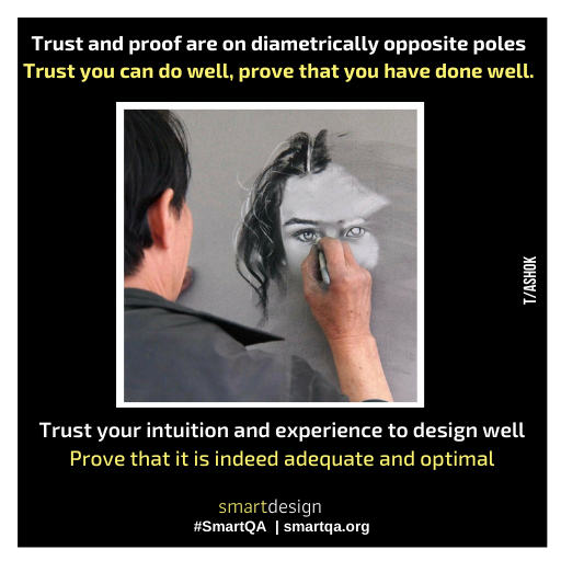 trust experience poster quality assurance