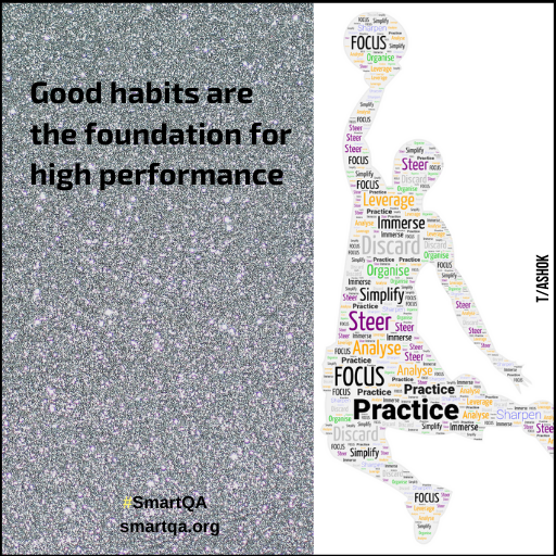 good habits are the foundation for high performance