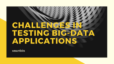 software qa - Challenges big data